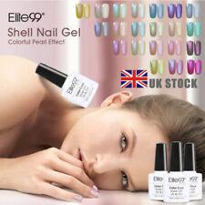 Elite99 Shell Gel Nail Polish Varnish Manicure Top Base Coat UV LED Soak Off