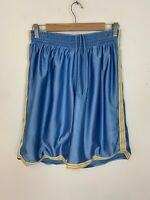 Men's Vintage 90s Adidas Long Shorts Basketball Style Blue UK Size M Medium