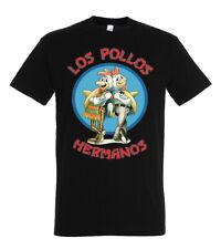 Herren T-Shirt Modell Los Pollos Hermanos Bad White Prison Breaking Walter Saul