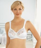 NEW LACY Bra msrp $39 Satin & Lace ~WIDE-STRAPS~ Support (10% Spandex) CLEARANCE