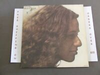 CAROLE KING, RHYMES & REASONS 1972 LP W LYRIC SLEEVE, TEXTURED COVER
