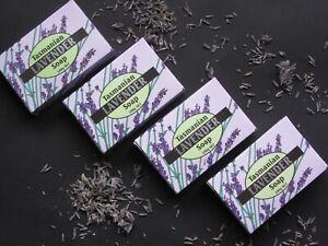 TASMANIAN LAVENDER SOAP 100g - Set of 4