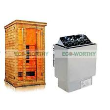 6Kw 220V Dry Stainless Steel Saunas Stove Heater + Controller for Home Spa