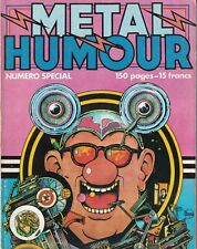 METAL HURLANT SPECIAL HUMOUR N°46 bis. Couv. MARGERIN.