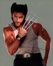 Hugh JACKMAN Signed Autograph 10x8 Wolverine X-MEN AFTAL COA