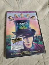 Charlie and the Chocolate Factory (Dvd, 2005, Full Frame) Johnny Depp New Sealed