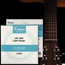 Acoustic Guitar Strings Phosphor Bronze Light Gauge 0.011-0.052 inch AG200