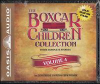NEW The Boxcar Children Collection Volume 4 CD Gertrude Chandler Warner Audio