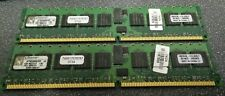 2x Kingston KTM2865/2G DDR2-RAM 1GB PC2-3200R ECC Memory Modules - FREE SHIP!