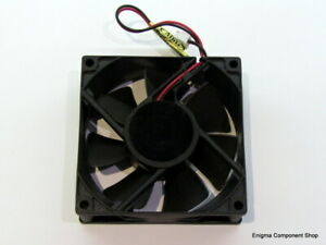 ADDA 24V 80mm Fan. AD0824HS-A70GL. Trusted UK Seller - Fast Dispatch.
