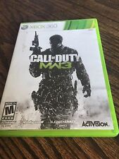 Call of Duty: Modern Warfare 3 (Microsoft Xbox 360, 2011) Works XG2