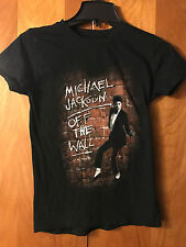 Michael Jackson- Off The Wall- Girl's Cut T-Shirt- Black- Small