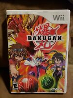 Bakugan Battle Brawlers Wii NO MANUAL CLEANED TESTED and working