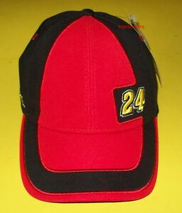 Jeff Gordon #24 AARP Drive To End Hunger Shift Fitted Hat Chase Authentics NWT
