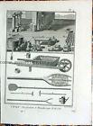 1775 Diderot Cyclopedia 8 1775  Original Candlemaking Engravings 2103