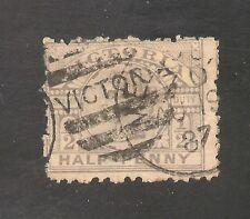 Victoria #159 (A35) F USED - 1886 1/2p Queen Victoria - Lilac