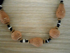 Ornaments from Nigeria African Bead Necklace withTerracotta