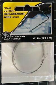 Woodland Scenics ST1436 Foam Cutter Replacement Wire - NIB