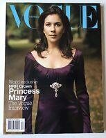 VOGUE Australia Magazine Dec 2004 Princess Mary Cover, Rare Collectible Issue!