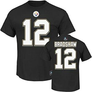 Terry Bradshaw Pittsburgh Steelers Hall of Fame Big&Tall Name and Number T-Shirt
