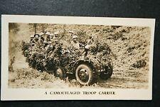 British Half-Track Troop Carrier    Original 1920's Photo Card