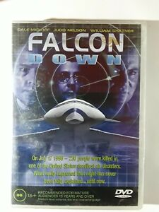 FALCON DOWN 2001 - Action Scifi Thriller - Shatner Nelson Midkiff -  New DVD