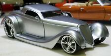 JADA D RODS 1934 FORD SILVER CUSTOM 1:24 SCALE DIECAST
