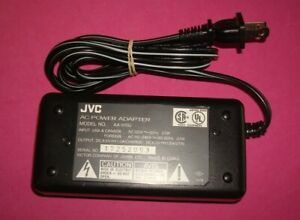 GENUINE OEM JVC AA-V15U  AC POWER ADAPTER  CAMCORDER BATTERY CHARGER  C1.2