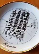 Las Siete Artes de Salvador Dalí. Colección de platos decorativos