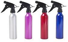 300ml Aluminium Salon Hair Plant Pet Garden Cleaning Spray Bottle Metal