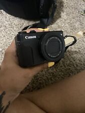 Canon PowerShot G7 X Mark II 20.1 MP Digital Camera - Black. Camera Bag Included