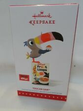 2015 Hallmark Keepsake Ornament Toucan Sam Fruit Loops B8