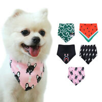 Adjustable Pet Dog Scarf Collars Bandana Small Dog Tie Collar for Chihuahua Pug