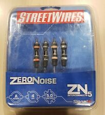 Streetwires ZN5 16.4 Ft 4 Channel RCA Cables ZN5450