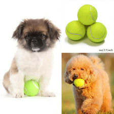 Dog Cat Toys Tennis Ball For Pet Chew Toy Big Inflatable Launcher Training 64mm