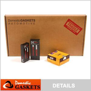 Full Gasket Set Bearings Rings Fit Ford E150 E250 E350 E450 Super Duty 5.4 SOHC