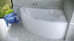 Offset Corner Bath ADA SPACE SAVER 1400 x 900 mm BATHTUB 140 x 90 cm