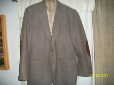 Circle S Ranch Western Rockabilly Retro Wool Blend Blazer Suit Coat Size 42R