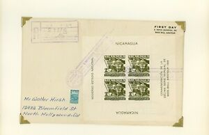 Nicaragua WATERLOW Sports Specialized REG FDC Scott #C307 2C SCOUTING $$$