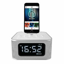 Majority Technology Velocity Outlet Neptune Docking Station Speaker - White