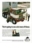 Print. 1972 Hayes Clipper C.O.E. Truck Advertisement