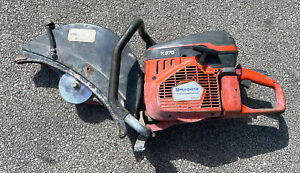Husqvarna K970 II Concrete Cut Off Saw For Parts  Scored Piston And Cylinder