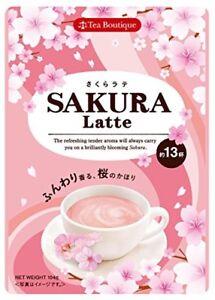 Tea Boutique Instant Sakura Latte 104 g Japan Cherry Blossoms Flavor Free Ship
