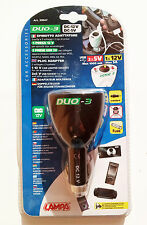LAMPA Spina adattatore 39047 Duo-3 presa accendisigari doppio alimentazione 12V+