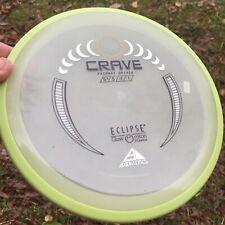 Axiom Discs Glow Eclipse Plastic Crave Disc Golf Midrange Disc!