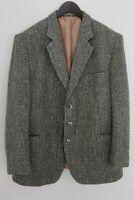 Men Harris Tweed Blazer Jacket Wool XXL IT56 US UK 46 QDA56