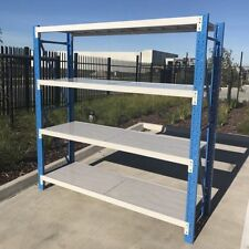 2M Length Steel Warehouse Racks Storage Shelving Garage Shelf Racking Shelves