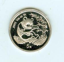 1994 Proof Platinum 5Y (1/20th Oz) China Panda