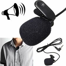 Mini Wireless Cordless Clip-on Lapel Tie Microphone Mic Recording Lectures PC