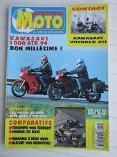 MONDE MOTO N°19 /900 TRIDENT-HONDA CB 1000/YAM' VMAX 1200-DUCATI 900 MONSTRO